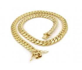10K Miami Cuban Chain (Solid)