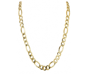 10K Figaro Chain (Semi-Solid)