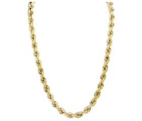 10K Rope Chain (Semi-Solid)