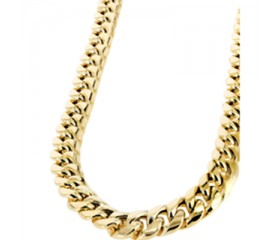 10K Miami Cuban Chain (Semi-Solid)