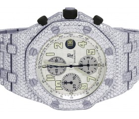 Audemars Piguet Royal Oak 42MM Steel VS Diamond Watch 37.75 Ct