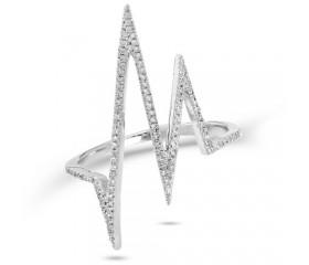 14K Diamond 'HeartBeat' Ring (0.20CT)