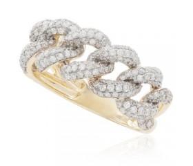 10K Diamond Cuban Ring (1.65ct)