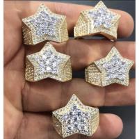 10K 3D Star Ring
