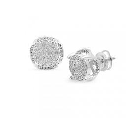 10K Diamond Fancy Earrings (0.50ct)