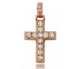 14K Diamond Cross (1.75ct)